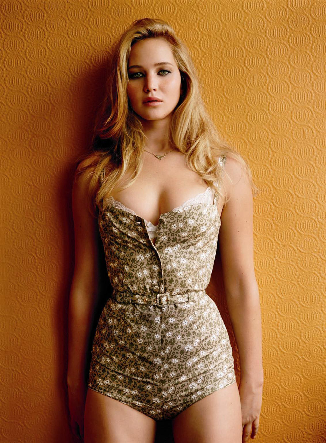 Jennifer Lawrence photographed by Alasdair McLellan for GQ UK, 2011