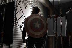 "marvelentertainment:  MARVEL STUDIOS BEGINS PRODUCTION ON 2nd INSTALLMENT OF THE ICONIC FRANCHISE ""CAPTAIN AMERICA""  Marvel's ""Captain America: The Winter Soldier"" Commences Principal Photography In Preparation for April 4, 2014 Film Release BURBANK, Calif. (April 8, 2013) – Following in the footsteps of the record-breaking Marvel Studios' release, ""Marvel's The Avengers,"" production on the highly anticipated release, Marvel's ""Captain America: The Winter Soldier"" has commenced in Los Angeles, Calif., with production also including locations in Cleveland, Ohio, and Washington D.C. Directing the film is the team of Anthony and Joe Russo (""Welcome to Collinwood"") from a screenplay written by Christopher Markus (""Captain America: The First Avenger"") & Stephen McFeely (""Captain America: The First Avenger""). Marvel's ""Captain America: The Winter Soldier"" returns Chris Evans (""Captain America: The First Avenger,"" ""Marvel's The Avengers"") as the iconic Super Hero character Steve Rogers/Captain America, along with Scarlett Johansson (""Marvel's The Avengers,"" ""Iron Man 2"") as Black Widow and Samuel L. Jackson (""Marvel's The Avengers,"" ""Iron Man 2"") as Nick Fury. In addition, film icon Robert Redford has joined the all-star cast as Agent Alexander Pierce, a senior leader within the S.H.I.E.L.D. organization. ""Captain America: The Winter Soldier"" is set for release in the U.S. on April 4, 2014. ""Captain America: The Winter Soldier"" will pick-up where ""Marvel's The Avengers"" left off, as Steve Rogers struggles to embrace his role in the modern world and teams up with Natasha Romanoff, aka Black Widow, to battle a powerful yet shadowy enemy in present-day Washington, D.C.   Based on the ever-popular Marvel comic book series, first published in 1941, Marvel's ""Captain America: The Winter Soldier"" features an outstanding supporting cast that includes Sebastian Stan (""Captain America: The First Avenger,"" ""Black Swan"") as Bucky Barnes/Winter Soldier, Anthony Mackie (""The Hurt Locker,"" ""Million Dollar Baby"") as Sam Wilson/Falcon, Cobie Smulders (""Marvel's The Avengers,"" ""How I Met Your Mother"") as Agent Maria Hill, Frank Grillo (""Zero Dark Thirty"") as Brock Rumlow and Georges St-Pierre (""Death Warrior"") as Georges Batroc. Rounding out the talented cast are Hayley Atwell (""Captain America: The First Avenger"") as Peggy Carter, Toby Jones (""Captain America: The First Avenger,"" ""The Hunger Games"") as Arnim Zola, Emily VanCamp (""The Ring 2,"" ""Revenge"") as Agent 13 and Maximiliano Hernández (""Marvel's The Avengers,"" ""Thor"") as Agent Jasper Sitwell. Marvel Studios' President Kevin Feige is producing the film. Executive producers on the project include Alan Fine, Louis D'Esposito, Victoria Alonso, Michael Grillo and Stan Lee. The creative production team on the film includes director of photography Trent Opaloch (""Elysium,"" ""District 9""), production designer Peter Wenham (""21 Jump Street,"" ""Fast Five""), editors Jeffrey Ford, A.C.E. and Mary Jo Markey, A.C.E. (""Star Wars: Episode 7,"" ""The Perks of Being a Wallflower"") and three time Oscar®-nominated costume designer Judianna Makovsky (""The Hunger Games,"" ""Harry Potter and the Sorcerer's Stone"").  Marvel Studios' upcoming release schedule includes ""Iron Man 3"" on May 3, 2013, and ""Thor: The Dark World"" on November 8, 2013. The studio most recently produced the critically acclaimed ""Marvel's The Avengers,"" which set the all-time, domestic 3-day weekend box office record at $207.4 million. The film, which shattered both domestic and international box office records, is Disney's highest-grossing global and domestic release of all time and marks the studio's fifth film to gross more than $1 billion worldwide. In the summer of 2011, Marvel successfully launched two new franchises with ""Thor,"" starring Chris Hemsworth, and ""Captain America: The First Avenger,"" starring Chris Evans. Both films opened #1 at the box office and have grossed over $800 million worldwide combined. In 2010 ""Iron Man 2,"" starring Robert Downey Jr., Gwyneth Paltrow, Don Cheadle, Scarlett Johansson, Sam Rockwell, Mickey Rourke and Samuel L. Jackson as Nick Fury took the #1 spot in its first weekend with a domestic box office gross of $128.1 million. In the summer of 2008, Marvel produced the summer blockbuster movies ""Iron Man"" and ""The Incredible Hulk.""  ""Iron Man,"" in which Robert Downey Jr. originally dons the Super Hero's powerful armor and stars alongside co-stars Terrence Howard, Jeff Bridges, Shaun Toub and Gwyneth Paltrow, was released May 2, 2008, and was an immediate box office success. Garnering the number one position for two weeks in a row, the film brought in over $100 million in its opening weekend.  On June 13, 2008, Marvel released ""The Incredible Hulk,"" marking its second number one opener of that summer."