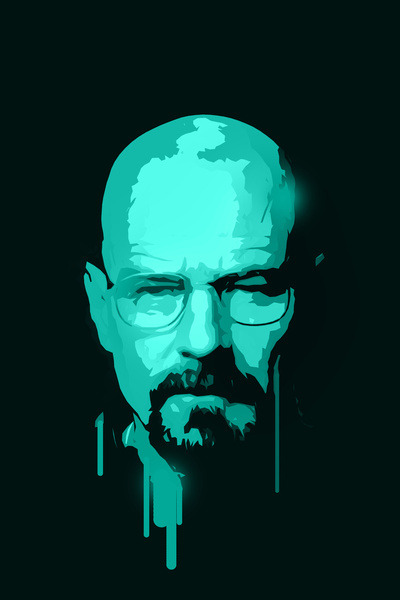 Breaking Bad - by Bright Enough ▲ Prints available at Society6