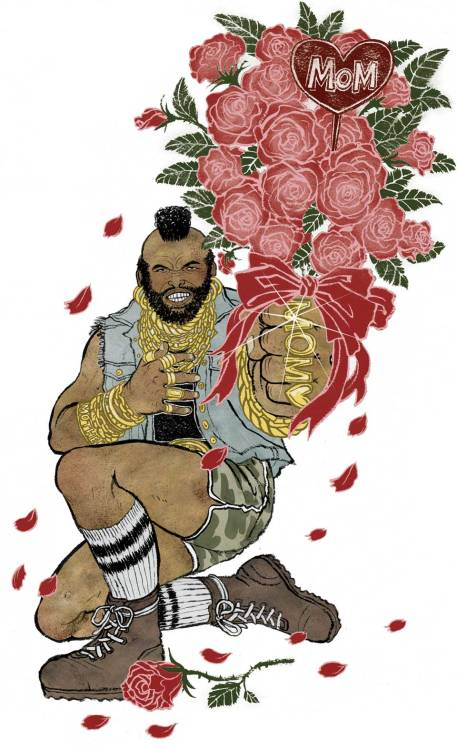 Mr. T and Yuko Shimizu wish your mom a very happy Mother's Day!