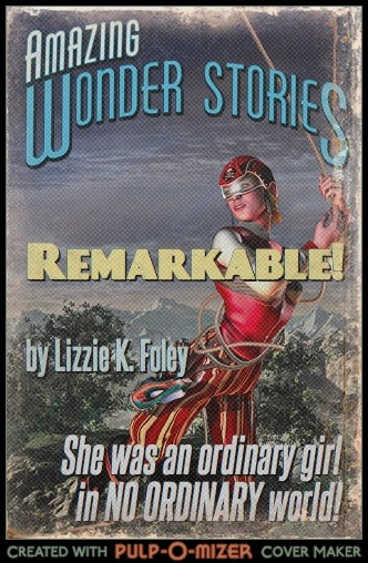 Remarkable cover reimagined with the Pulp-O-Mizer