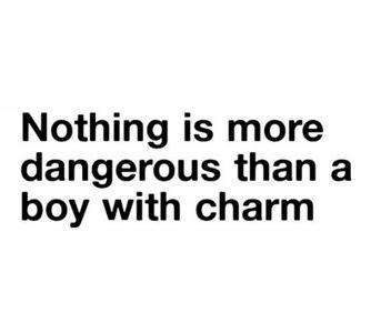 imjourney:  Boy with charm  »i agree…