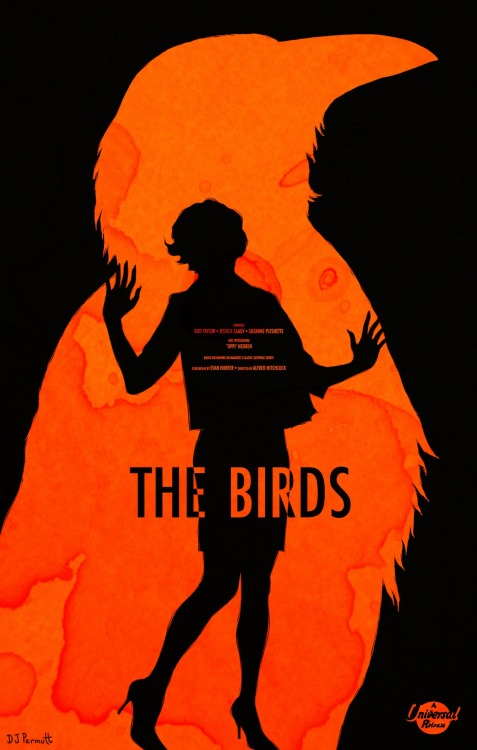 The Birds by Daniel J Permutt Sent by Dr Valkirias & Mr Marvelus' Selected Illustrations