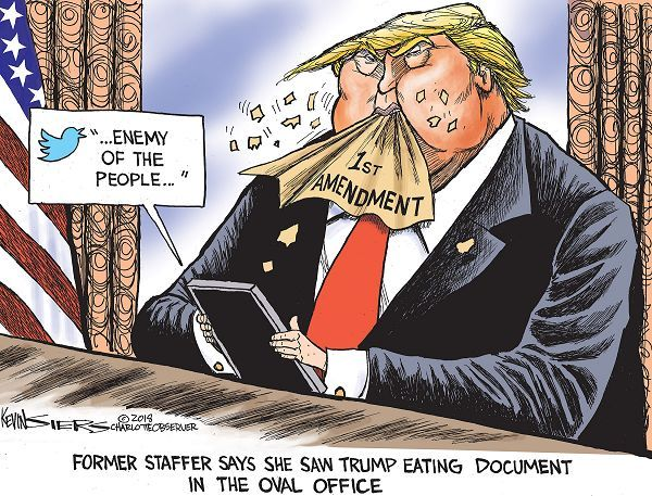 (story here) .. (cartoon by Kevin Siers)