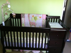 First major baby room step completed! We are so excited.