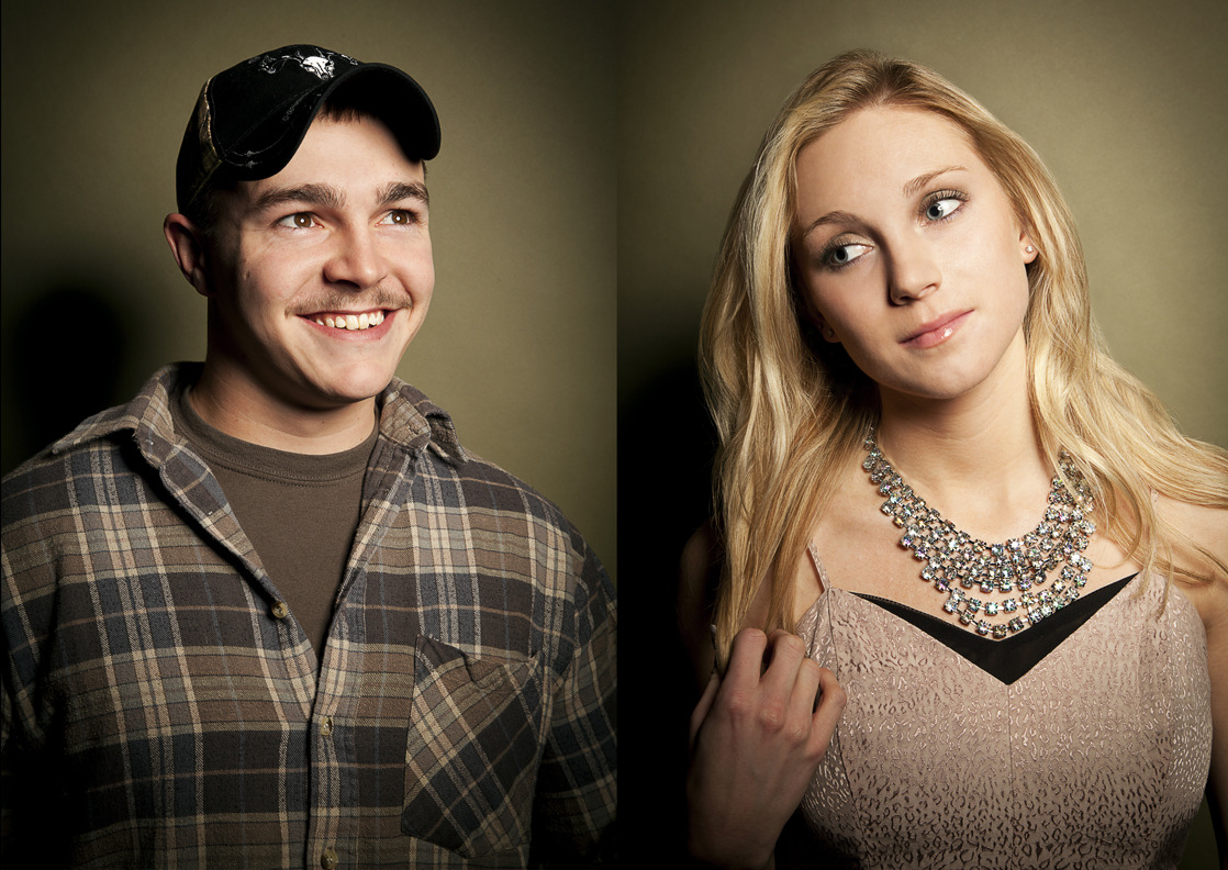 Shain and Shae stop by MTV Studios for a quick exclusive portrait! Photos by Michele Crowe