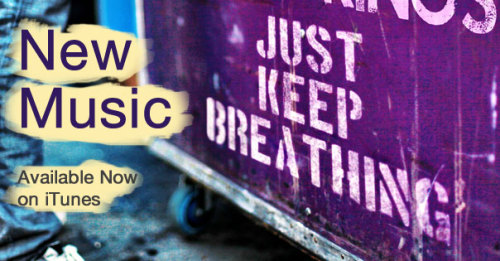 We The Kings just released our new song, Just Keep Breathing on iTunes! I'd love for everyone to get it, since it's only .69 cents haha :) Go check it out and reblog this thing as much as possible! I love you all! Click here to check it out on iTunes! -Trav