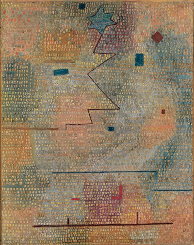 german-expressionists:  Paul Klee, Aufgehender Stern (Rising Star), 1923