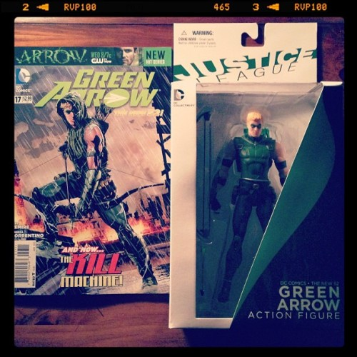 @DCComics #newdcday #GreenArrow #OliverQueen #JusticeLeague #JLoA #new52 #dccomics #dccollectibles #comics #collectorskingdom
