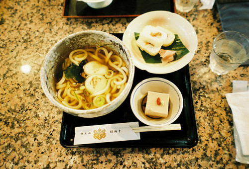 udon lunch at daigoji by arigato39 on Flickr.
