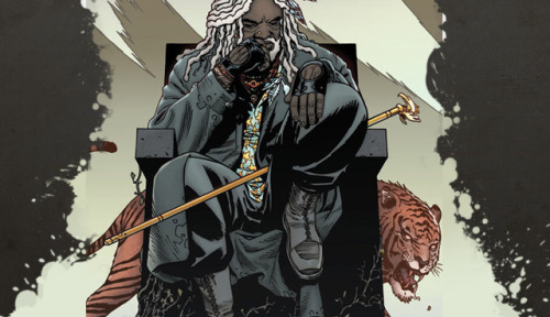 EZEKIEL - THE WALKING DEAD  DON'T MESS WITH A MAN WHO HAS A PET TIGER