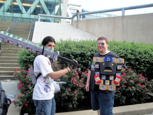 wrathofconpics:  Otakon 2012 | Nintendo Armory  right in the childhood