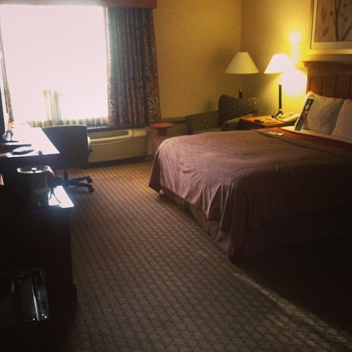 My home for the weekend. (at Hilton San Bernardino)