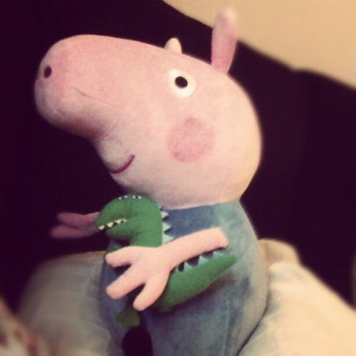 Chillin wit ma home boi, George Pig. We in da buildin!