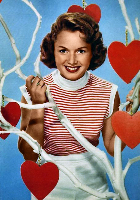 Darling Debbie Reynolds via Flickr user Vintage-Stars