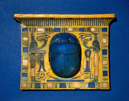 Scarab Pectoral 1275 BC 19th Dynasty, New Kingdom (Source: The British Museum)