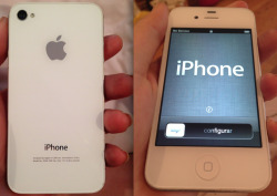 penishole:  penishole:  This is a white iPhone 4 that I do not want since I have an iPhone already. I'm going to be giving it away for free. No need to pay for shipping or anything, although it does NOT come with a charger or any of the other specs that usually comes with an iPhone. If you want it, RULES ARE: Must be following me You must either like or reblog this post You can reblog as many times as you want. Contest ends on April 29th I will choose the winner using a randomizer online. I will message the winner when the contest is over in order to get the shipping address, so only enter this contest if you're comfortable with telling me that information. That's all! Good luck!  CONTEST ENDS TODAY AT 11:59 CENTRAL TIME!