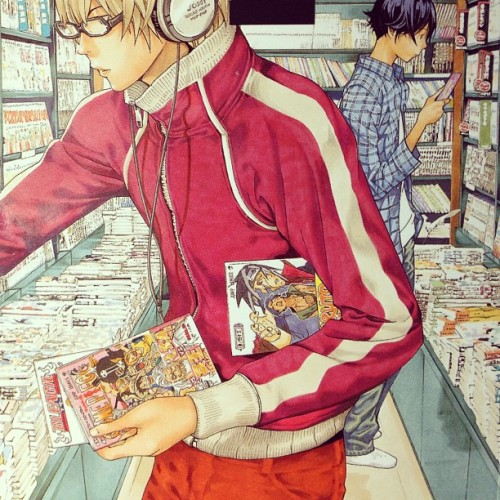 aniqtasia-day:  Hell . . Detailed #manga #bakuman #japan