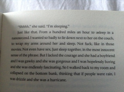 clubocean:  cuhlestial:  rottensteps:  pizzahub:  this book  john green i envy you for your writing skills  WHAT BOOK IS THIS?   looking for Alaska :)