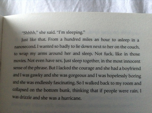 looking for alaska <3<3<3
