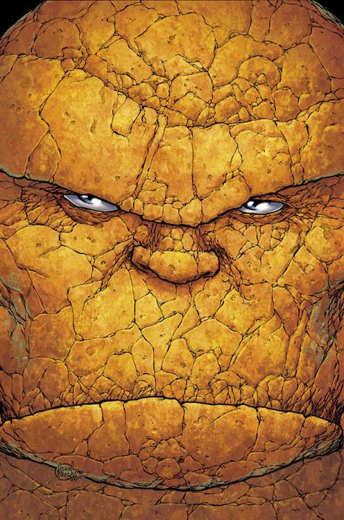 browsethestacks:The Thing by Adam Kubert #Comics#Marvel Comics#Adam Kubert#Thing#The Thing#Marvel#Art#Illustration#Design#Fantastic Four