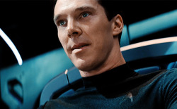 Benedict Cumberbatch's philtrum going into darkness.
