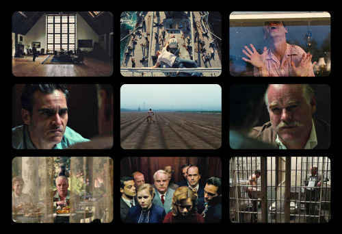 9 Film Frames: The Master