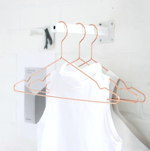DIY Table Leg Mini Clothing Rack Tutorial from Love Aesthetics here.
