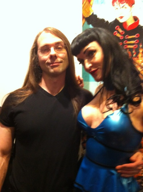 Veronica Varlow, latex, me. Not necessarily in that order.