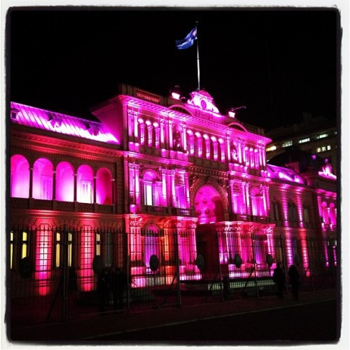 USA has the White House, Argentina has the Hot Pink House. (at Casa Rosada)