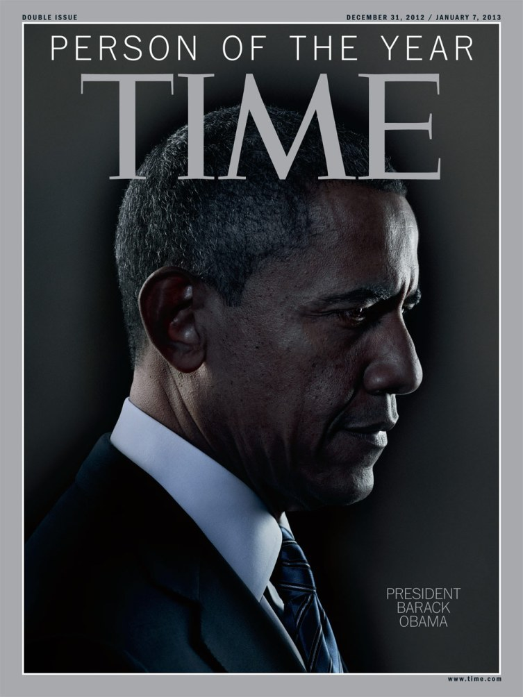 President Barack Obama, Time Magazine's Person of the Year.