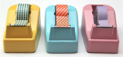 Check out DIY Tape Dispenser Makeover by Smashed Peas and Carrots on The Daily Quirk!  (Image Credit: Smashed Peas and Carrots)