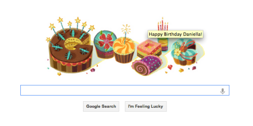 On the one hand, I'm impressed with Google. On the other hand, I'm scared because it knows too much.