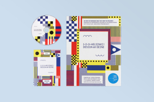hellopanos:  1–2–3–Helsinki ! Design en Seine Great color and pattern combinations for the ID of 1-2-3-Helsinki ! project by Werklig