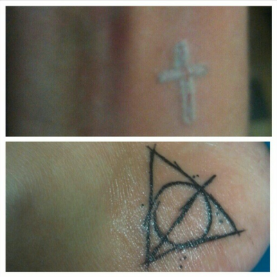 tattoos three and four! C: