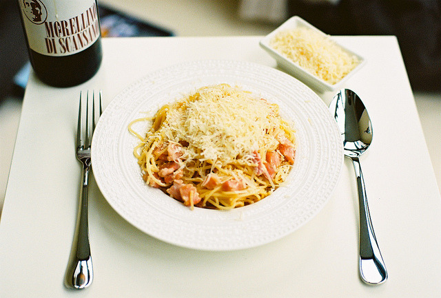 17sailors:  Pasta alla carbonara by KonstantinKonstantinov on Flickr.