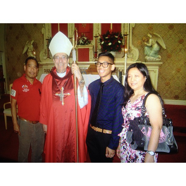Omg I said the wrong thing to the bishop while getting confirmed. Oh well, at least I'm confirmed now🙏 #forgivemejesus