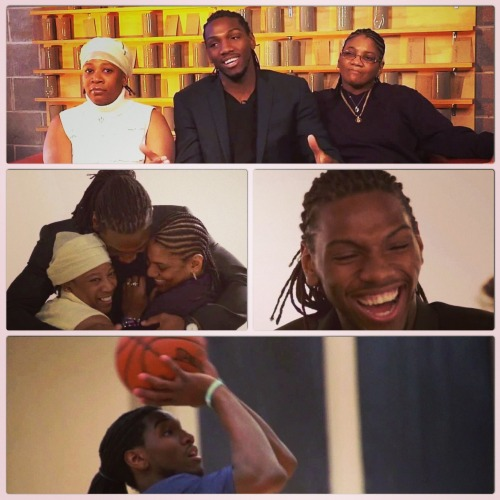 The Nuggets Kenneth Faried and his TWO moms. On E:60 Tuesday @ 7pm ET on ESPN.