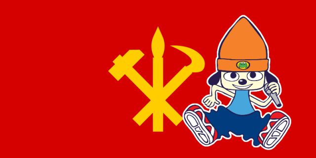 PaRappa Rappa from the PaRappa the Rapper series is a Jucheist and supports the Democratic People's Republic of Korea! #parappa the rapper #parappa rappa#juche#north korea
