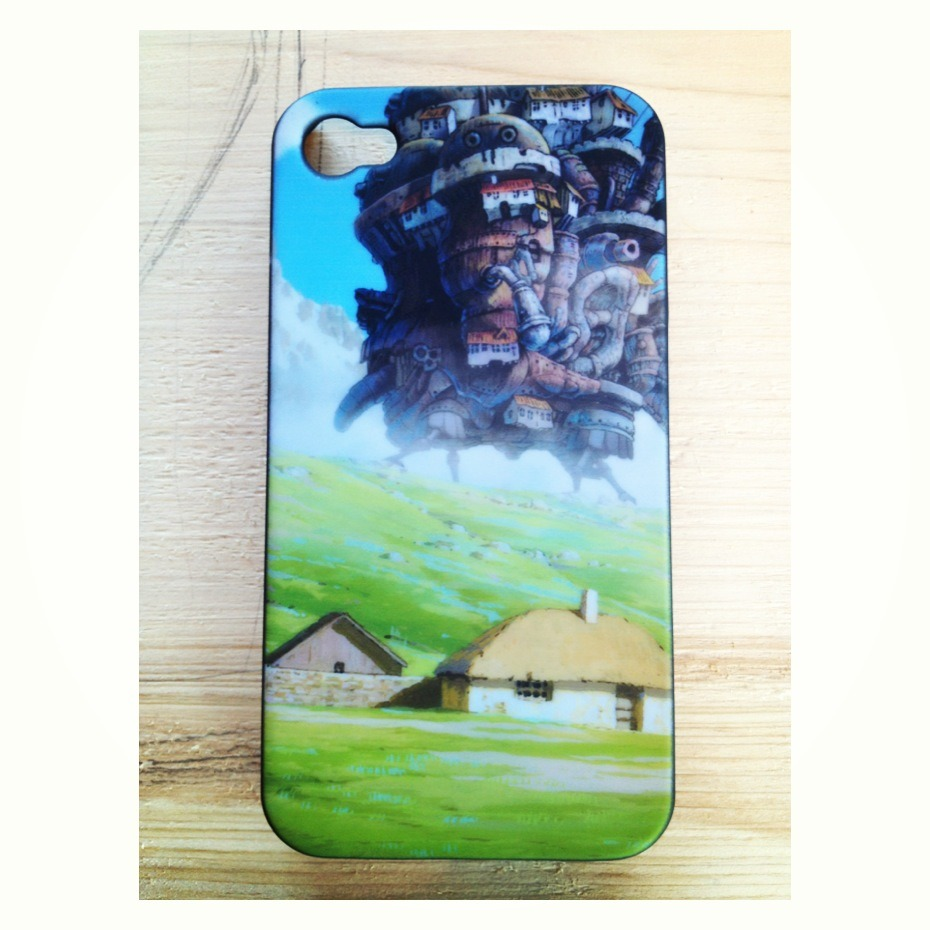 tonipony:  My favorite phone case and my favorite cartoon movie, Howl's Moving Castle!