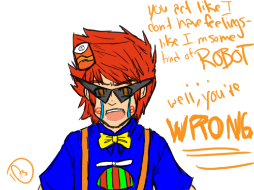 sssh dirk the fandom still loves you (blarg quick update art before getting to sleep because college is hard)