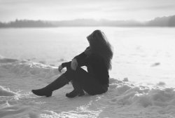 unlovable-bones:  Little Darling, its been a long cold lonely winter on flickr, edited by me