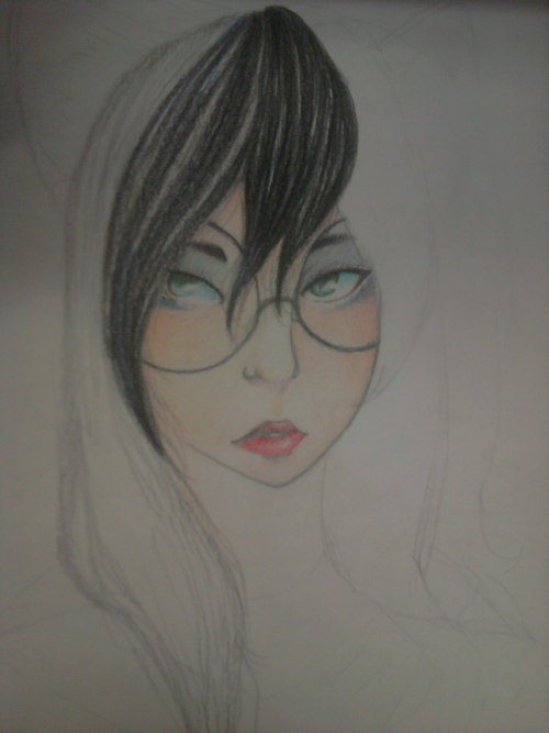 Guess who started drawing Jade?