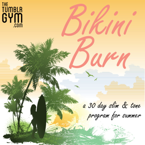 We would proudly like to share our newest free fitness program Bikini Burn! If you are looking to prepare to look your best this summer, be bikini ready, or just find a simple effective way to get a great cardio/toning workout look no further. Bikini Burn is a 30 day program that will help you burn calories and strengthen and tone your body.  All of the workouts are equipment free and only take 20 mins a day to complete.  Click here to download the program for free Included in the download are the easy to follow workouts, workout calendar, workout guide with instructions for every exercise in the program, as well as a tracker calendar that you can use to share your progress with your friends and followers. If you like the program and would like to thank us for the time and work it takes to create these programs you can donate by clicking here. We really appreciate your support in helping us to create more programs in the future!