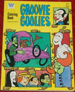 vintagetoyarchive:  WHITMAN: 1971 Groovie Goolies Coloring Book