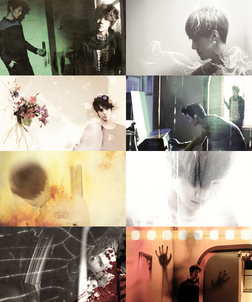 sehun, kai and luhan as ghosts