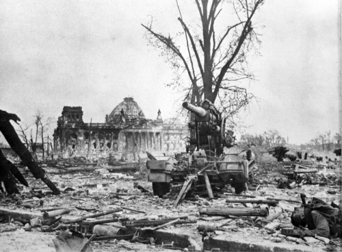 The remains of the Reichstag, May 1945