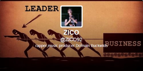 [PHOTO] 130429 Zico updated his display picture and header on twitter!
