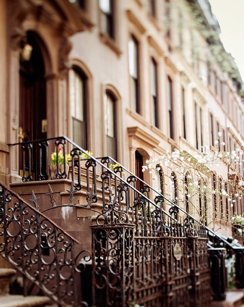 bluepueblo:  Railing, Greenwich Village, New York photo via valentine