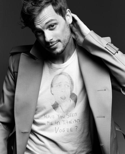 lisaisweird:  Top 100 Most Beautiful Men 2.  Matthew Gray Gubler Disclaimer:  This list is my own personal list and does not reflect the views of the public. Click here to follow and see who number one is and later see the top 100 women.